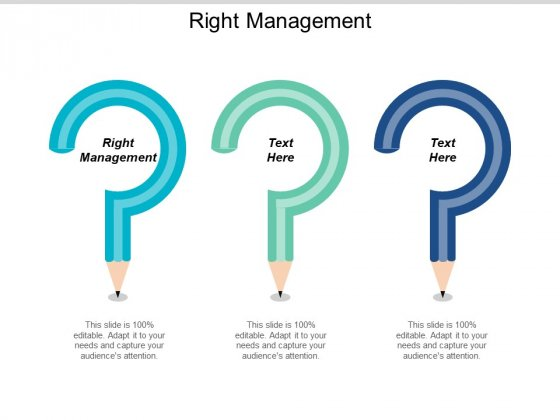 Right Management Ppt PowerPoint Presentation Gallery Grid Cpb
