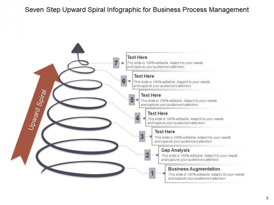 Rising_Spiral_Arrow_Diagram_Financial_Growth_Ppt_PowerPoint_Presentation_Complete_Deck_Slide_8