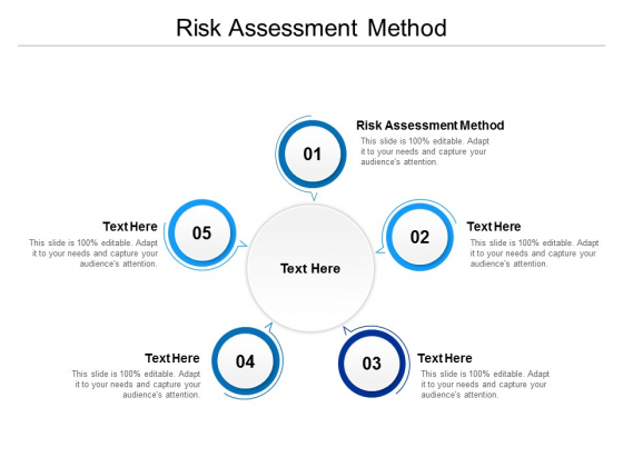 Risk Assessment Method Ppt PowerPoint Presentation Outline Example Introduction Cpb
