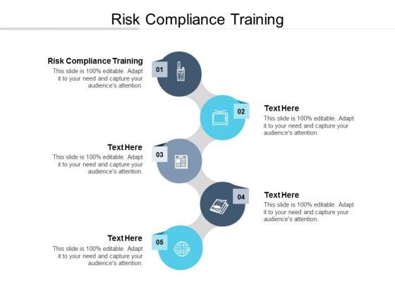 Risk Compliance Training Ppt PowerPoint Presentation Microsoft Cpb