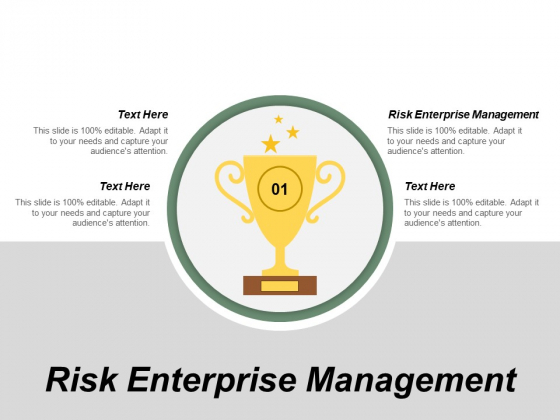 Risk Enterprise Management Ppt PowerPoint Presentation Gallery Visuals Cpb