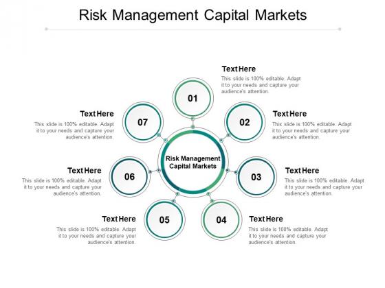 Risk Management Capital Markets Ppt PowerPoint Presentation Slides Portrait Cpb