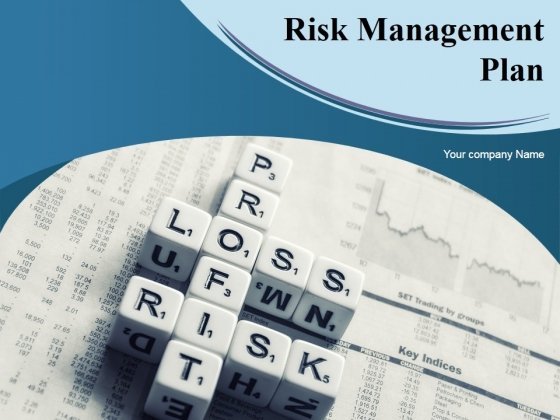 Risk Management Plan Ppt PowerPoint Presentation Complete Deck With Slides
