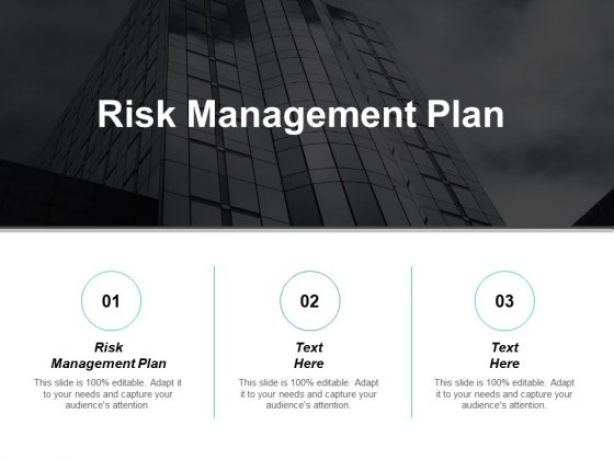Risk Management Plan Ppt PowerPoint Presentation Infographics Sample Cpb
