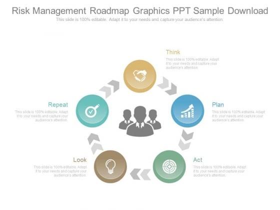 Risk Management Roadmap Graphics Ppt Sample Download