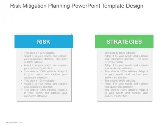 Risk Mitigation Planning Ppt PowerPoint Presentation Themes
