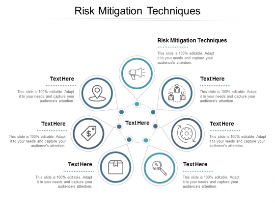 Risk Mitigation Techniques Ppt PowerPoint Presentation Gallery Background Cpb