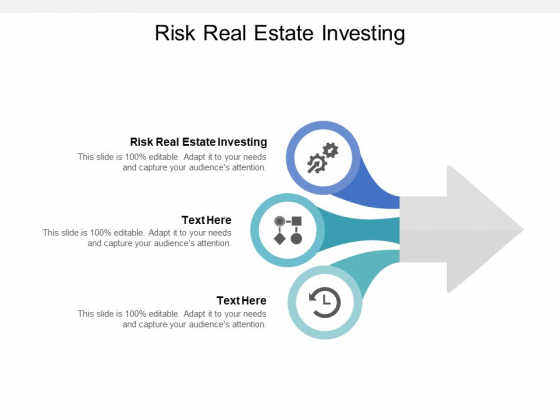 Risk Real Estate Investing Ppt PowerPoint Presentation Outline Layout Cpb Pdf