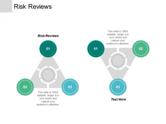 Risk Reviews Ppt Powerpoint Presentation Styles Deck Cpb