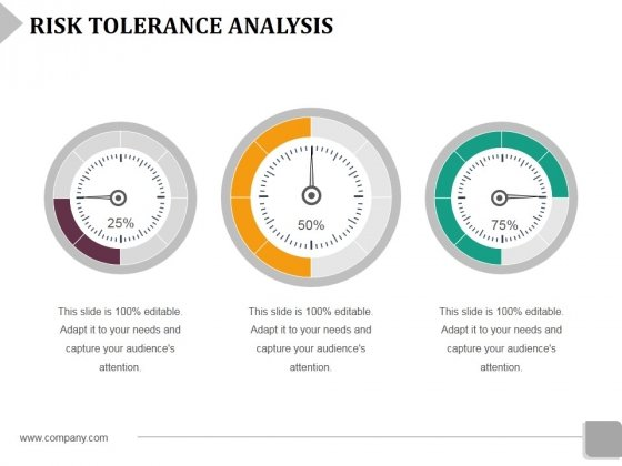 Risk Tolerance Analysis Template 1 Ppt Powerpoint Presentation File Infographic Template