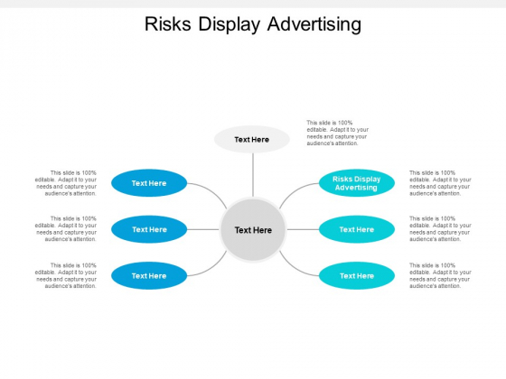 Risks Display Advertising Ppt PowerPoint Presentation Slides Layout Cpb