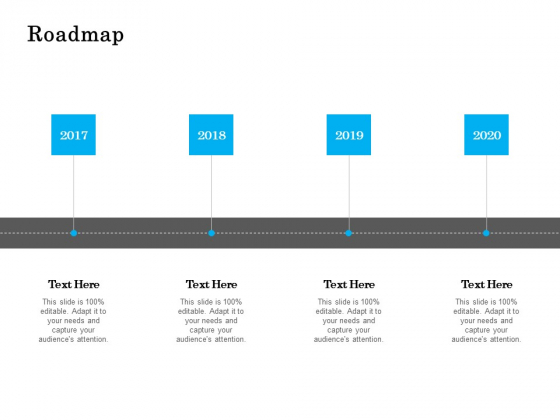 Roadmap 2017 To 2020 Ppt PowerPoint Presentation Slides Sample