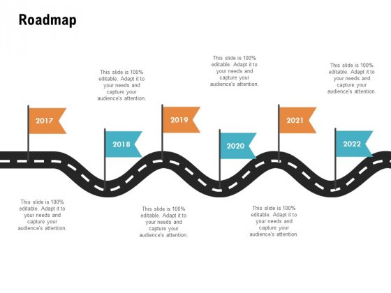 Roadmap 2017 To 2022 Ppt PowerPoint Presentation Icon Model