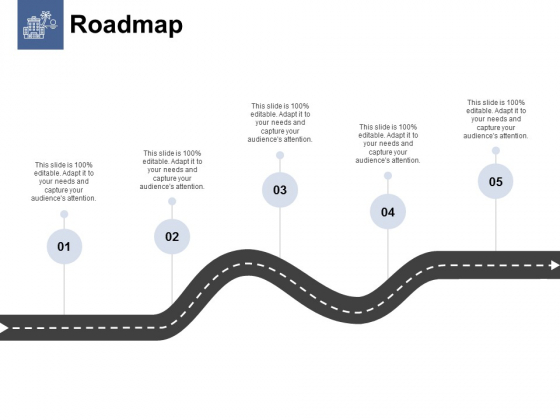Roadmap Five Process Ppt PowerPoint Presentation Portfolio Design Inspiration