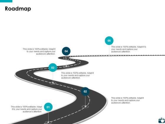 Roadmap Five Process Ppt PowerPoint Presentation Summary Tips