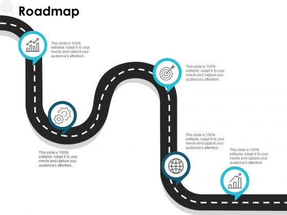 Roadmap Five Stage Ppt PowerPoint Presentation Gallery Layouts
