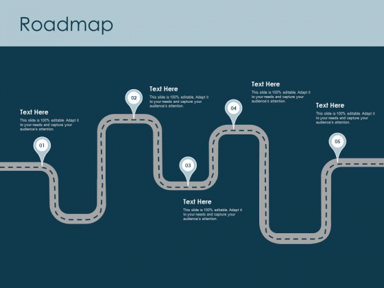 Roadmap Five Stage Ppt PowerPoint Presentation Ideas Styles