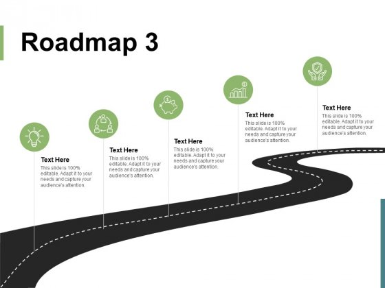 Roadmap Five Stage Ppt PowerPoint Presentation Infographic Template Example 2015