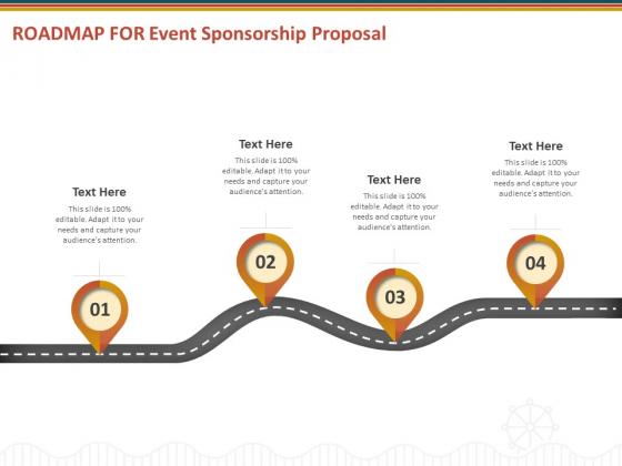 Roadmap For Event Sponsorship Proposal Ppt Model Slide PDF