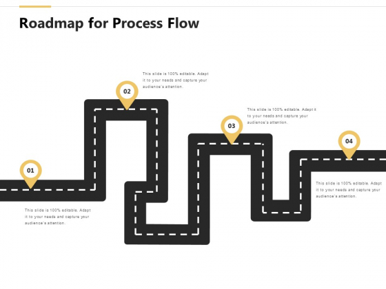 Roadmap For Process Flow Location Ppt PowerPoint Presentation Gallery Portfolio