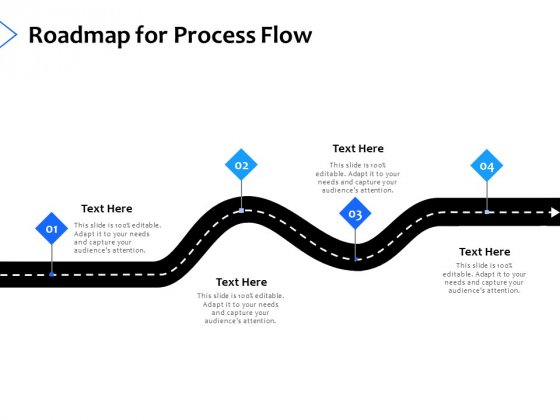 Roadmap For Process Flow Planning Ppt PowerPoint Presentation Infographic Template Graphics Template