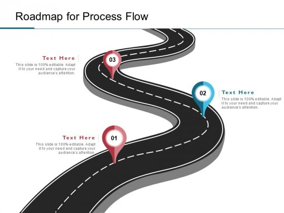 Roadmap For Process Flow Ppt PowerPoint Presentation Gallery Display