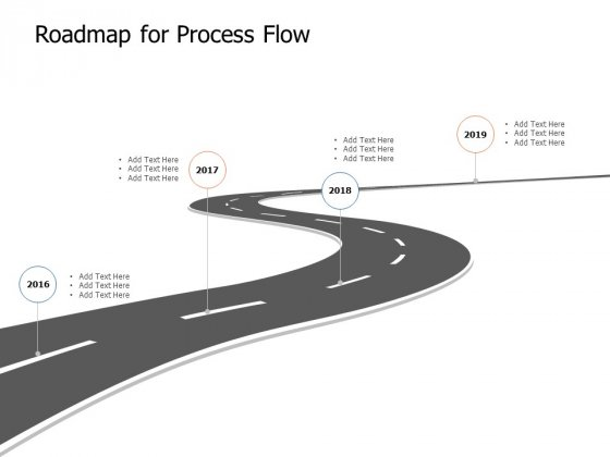 Roadmap For Process Flow Ppt Powerpoint Presentation Gallery Slides