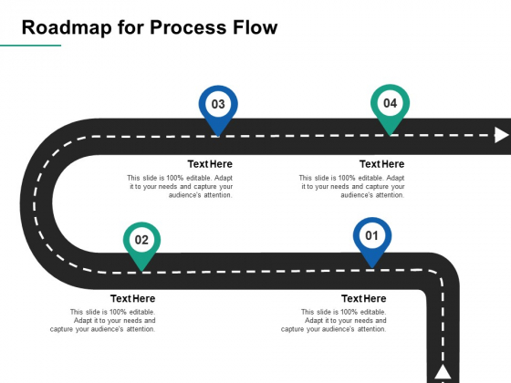 Roadmap For Process Flow Ppt PowerPoint Presentation Icon Format