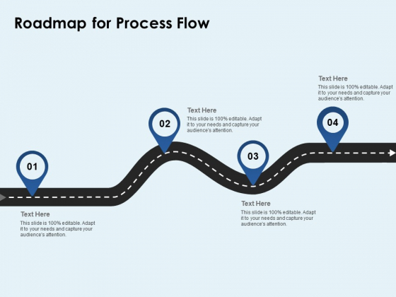 Roadmap For Process Flow Ppt PowerPoint Presentation Icon Slide