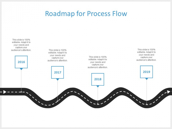Roadmap For Process Flow Ppt PowerPoint Presentation Infographics Picture