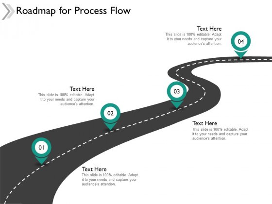 Roadmap For Process Flow Ppt Powerpoint Presentation Inspiration Mockup
