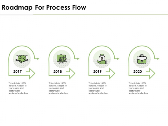 Roadmap For Process Flow Ppt PowerPoint Presentation Layouts Clipart Images