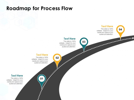 Roadmap For Process Flow Ppt PowerPoint Presentation Layouts Images
