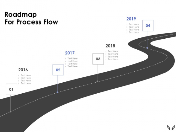 Roadmap For Process Flow Ppt Powerpoint Presentation Layouts Information