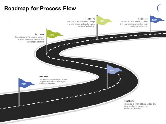 Roadmap For Process Flow Ppt PowerPoint Presentation Model Display