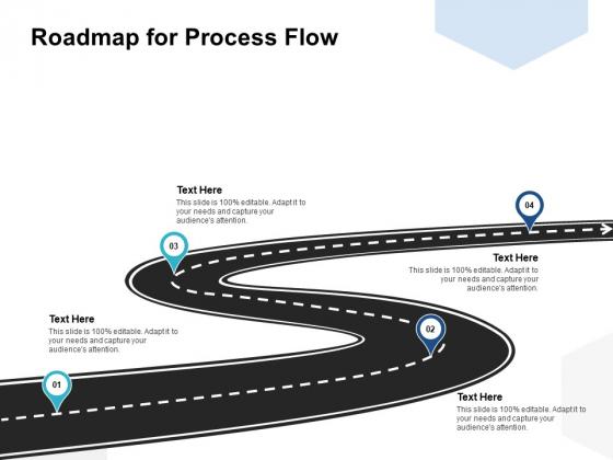 Roadmap For Process Flow Ppt PowerPoint Presentation Model Layout Ideas