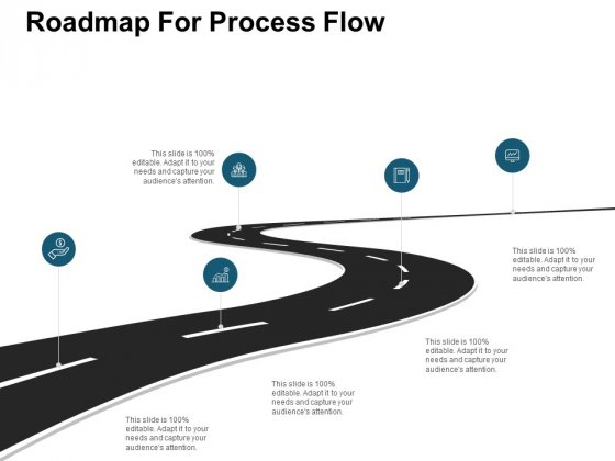 Roadmap For Process Flow Ppt PowerPoint Presentation Model Smartart