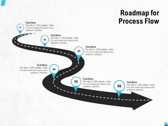 Roadmap For Process Flow Ppt PowerPoint Presentation Portfolio Microsoft