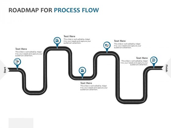 Roadmap For Process Flow Ppt PowerPoint Presentation Professional Aids
