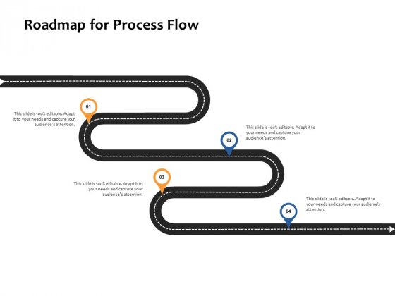 Roadmap For Process Flow Ppt PowerPoint Presentation Show Example
