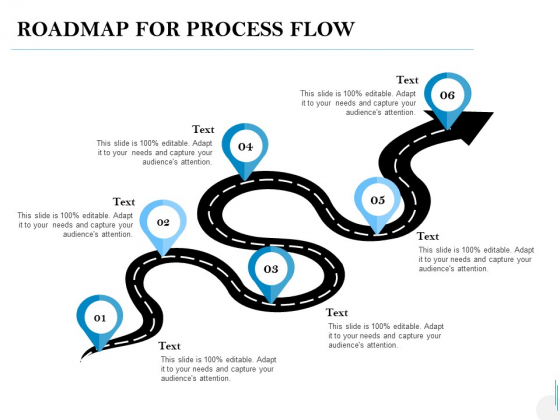 Roadmap For Process Flow Ppt PowerPoint Presentation Show Professional