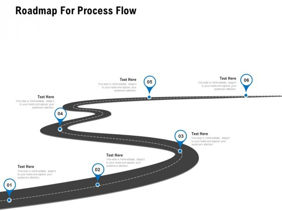 Roadmap For Process Flow Ppt PowerPoint Presentation Show Skills