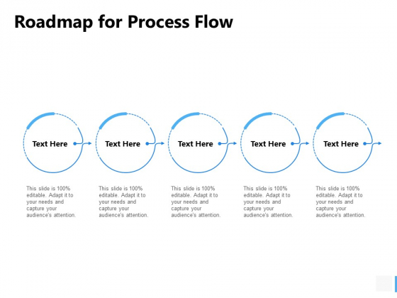 Roadmap For Process Flow Ppt PowerPoint Presentation Show Slides