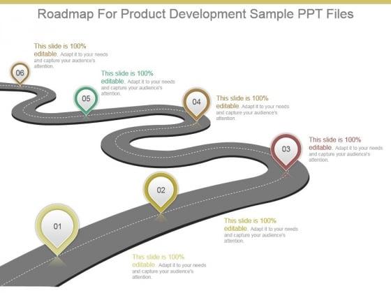 Roadmap For Product Development Sample Ppt Files