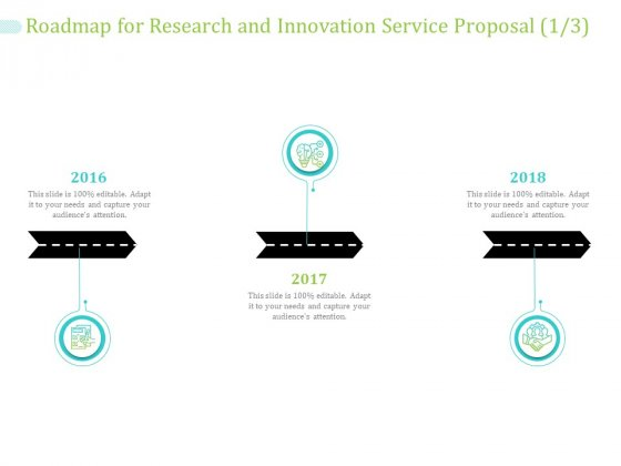 Roadmap For Research And Innovation Service Proposal Ppt PowerPoint Presentation Summary Designs Download PDF