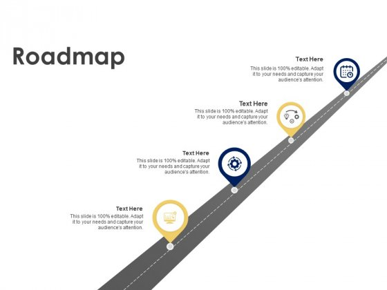 Roadmap Four Stage Ppt PowerPoint Presentation Portfolio Layout Ideas