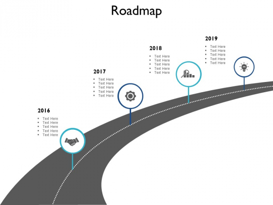 Roadmap Gears Ppt PowerPoint Presentation Pictures Templates
