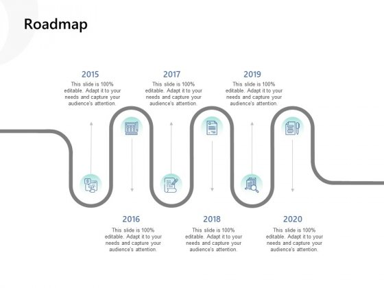 Roadmap Ppt PowerPoint Presentation Portfolio Clipart