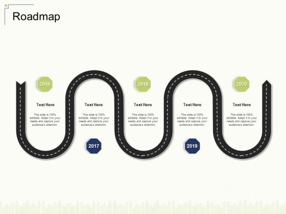 Roadmap Ppt Summary Deck PDF