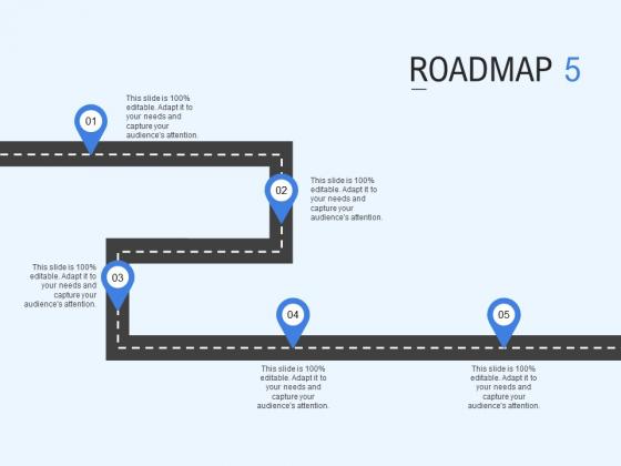 Roadmap Process Ppt PowerPoint Presentation Model Deck